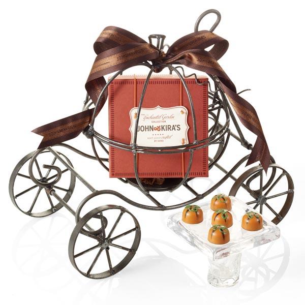 Chocolate Pumpkins Enchanted Carriage
