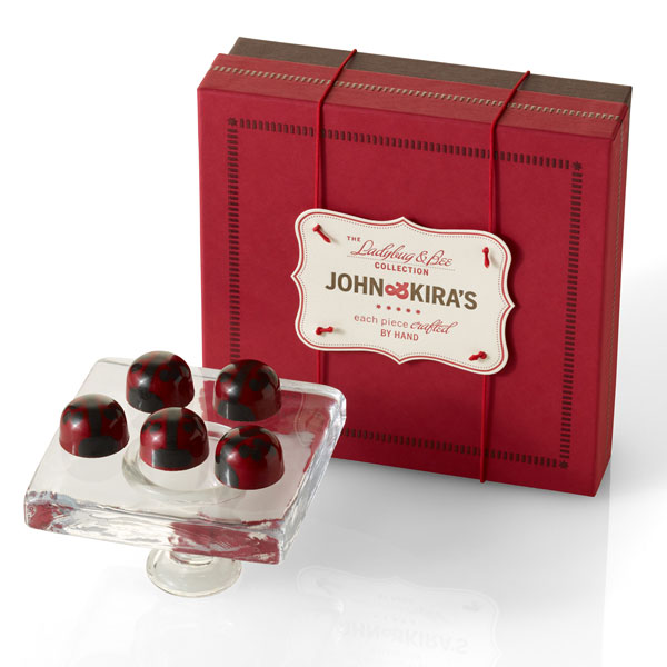 Ganache Red Lovebug Chocolates 16pc
