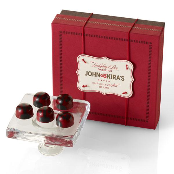 Ganache Red Lovebug Chocolates 16pc