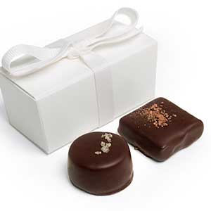 Chocolate Caramel Favor 2pc: Choice