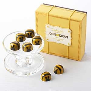Chocolate Honey Caramel Bees 9pc