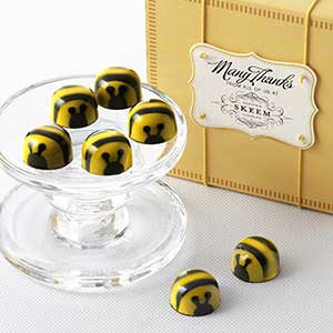 Chocolate Honey Caramel Bees 16pc - Business