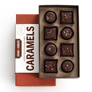 Chocolate Caramels 8pc