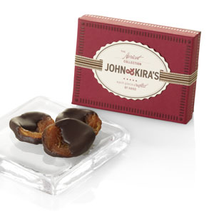 Chocolate-dipped Heirloom Apricots 6pc