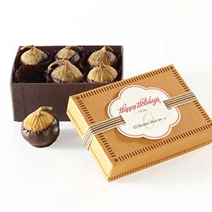 Chocolate Figs 6pc - Business