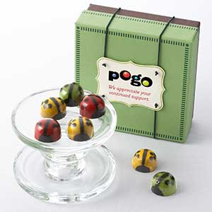 Chocolate Ladybugs 9pc - Business