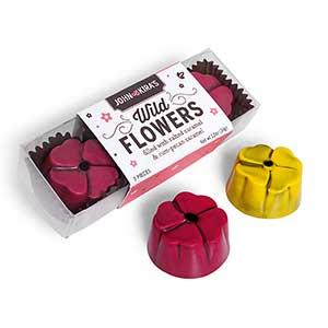 Chocolate Wildflowers 3pc