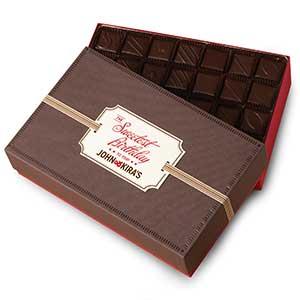 Every Flavor Chocolates 56pc - Happy Birthday