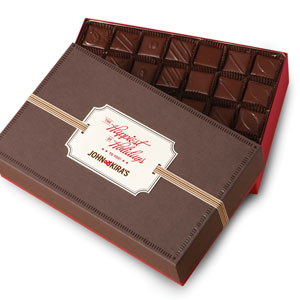 Every Flavor Chocolates 56pc - Happiest of Holidays