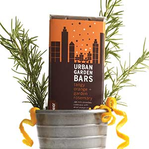 Urban Garden Chocolate Bar - Rosemary Orange