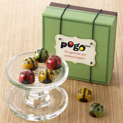 Chocolate Ladybugs - Business 9pc