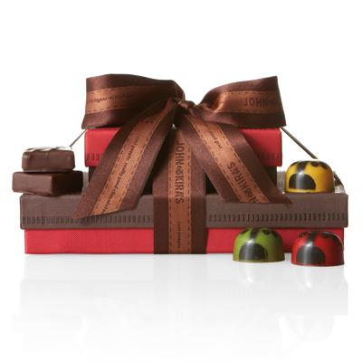 Ladybug Chocolate Tower