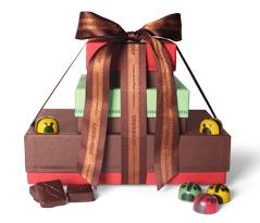 Ladybug + Bee Gift Tower