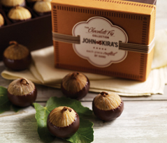 Chocolate Figs 6pc