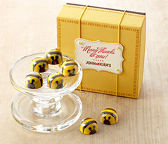 Chocolate Bees 9 pc - Thank You