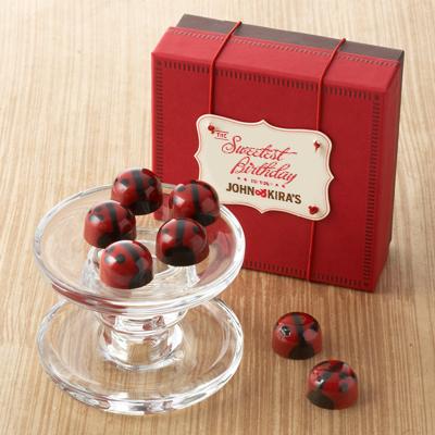 Red Ganache Ladybugs 9pc- Birthday