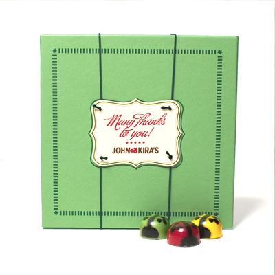 Chocolate Ladybug Medley 9pc - Thank You