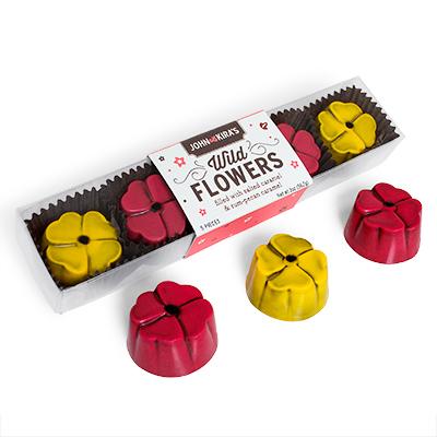 Chocolate Wildflowers 5pc