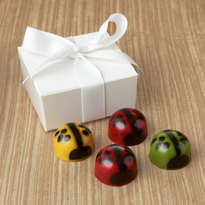  Ladybug Favor 4pc: Choice