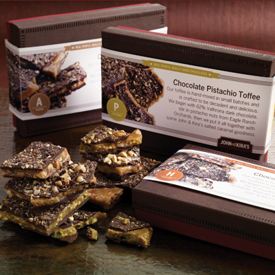 Pistachio Toffee
