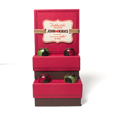 Stocking Stuffers - 3 4pc Holiday Ladybugs  