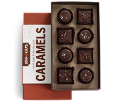 Chocolate Caramels 8pc NEW!