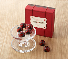 Praline Red Ladybug Chocolates 16pc