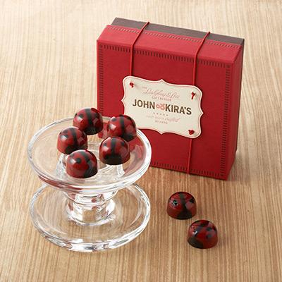 Praline Red Ladybug Chocolates 16pc